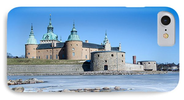 IPhone Case featuring the photograph Kalmar Medieval Castle by Kennerth and Birgitta Kullman