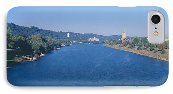 Kanawha River, Charleston, West Virginia IPhone Case by Panoramic Images