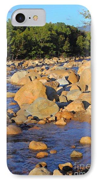 Kancamagus River - New Hampshire IPhone Case