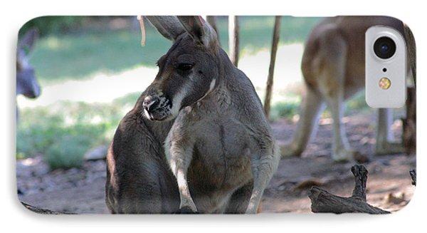 Kangaroo-2 Phone Case by Gary Gingrich Galleries