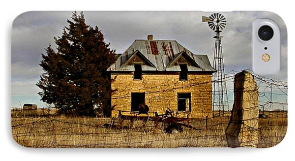 IPhone Case featuring the photograph Kansas Castle 1 by Lynne Wright