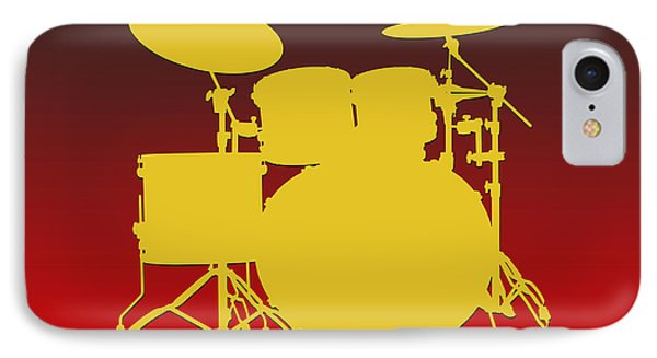 Kansas City Chiefs Drum Set IPhone Case by Joe Hamilton