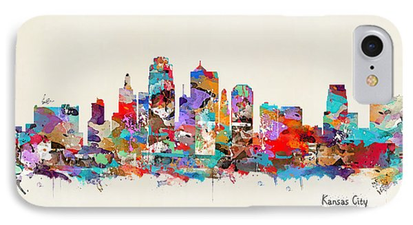 Kansas City Missouri IPhone Case by Bri B