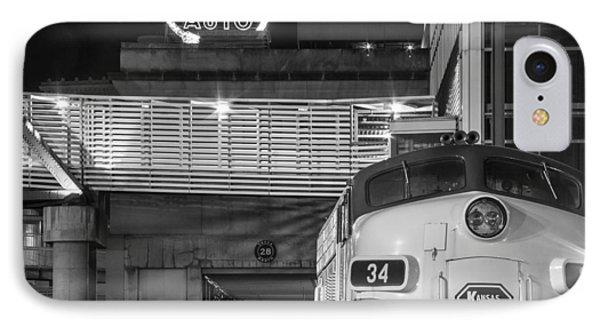 Kansas City Night Train IPhone Case by Steven Bateson