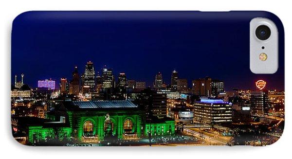 Kansas City Skyline IPhone Case
