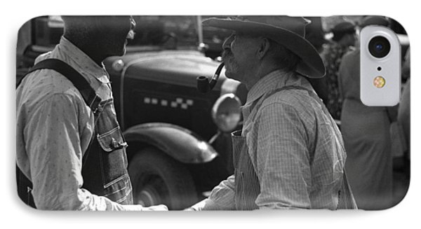 Kansas Farmers, 1938 IPhone Case by Granger