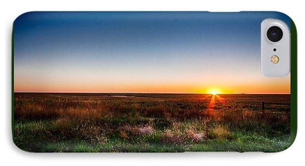 Kansas Sunrise IPhone Case by Jay Stockhaus