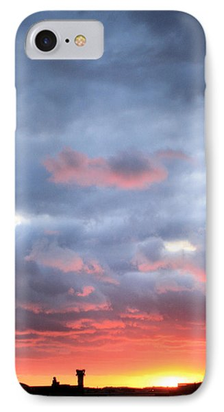 Kansas Sunset Phone Case by JC Findley