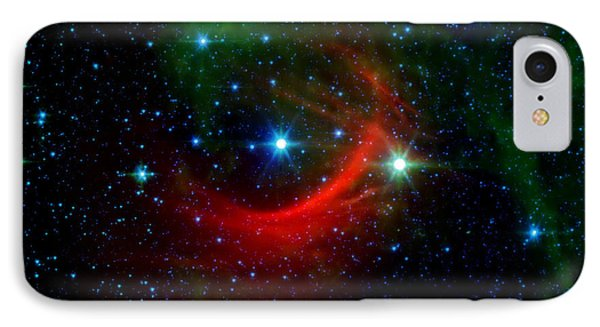 Kappa Cassiopeiae Shock Wave IPhone Case by Jennifer Rondinelli Reilly - Fine Art Photography