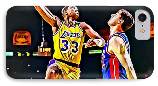 Kareem Abdul Jabbar IPhone Case
