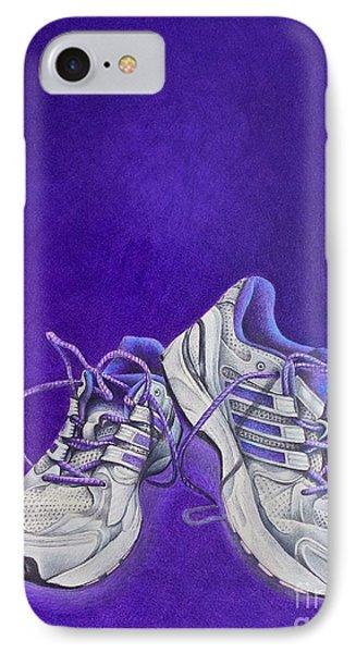 Karen's Shoes Phone Case by Pamela Clements