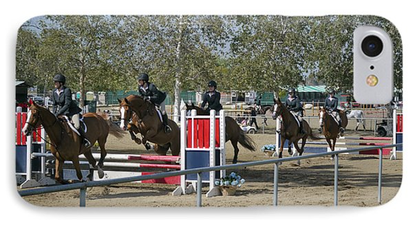 Karina Garrett Competing At The Verdugo Hills Spring IPhone Case by Kevin Garrett