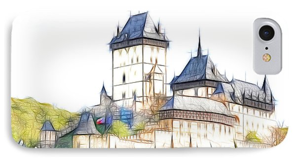 Karlstejn - Famous Gothic Castle Phone Case by Michal Boubin