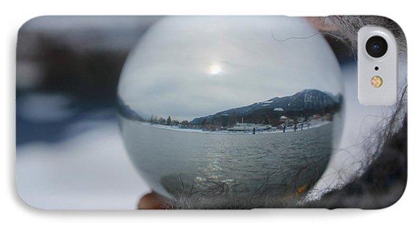 Kaslo Winter IPhone Case by Cathie Douglas