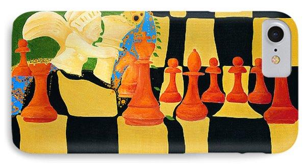 Kasparov-karpov IPhone Case by Nicolas Sphicas