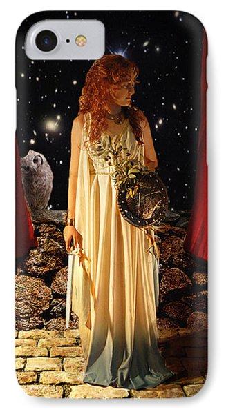 Kat As Athena  IPhone Case