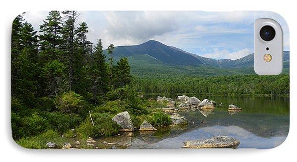 Katahdin And Sandy Stream Pond IPhone Case
