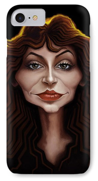 Kate Bush IPhone Case by Andre Koekemoer