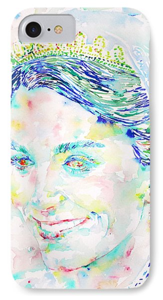 Kate Middleton Portrait.2 IPhone Case