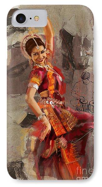Kathak 21 IPhone Case by Mahnoor Shah