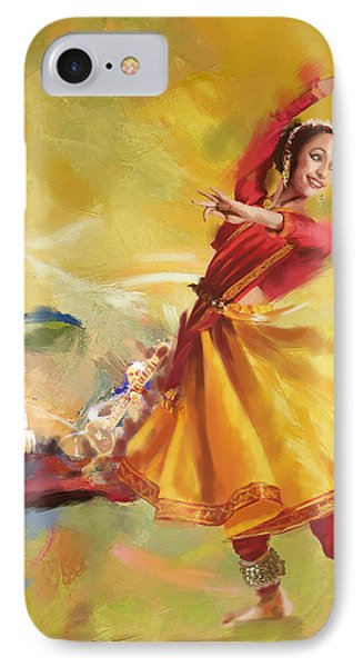 Kathak Dance Phone Case by Catf