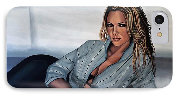 Katherine Heigl IPhone Case by Paul Meijering