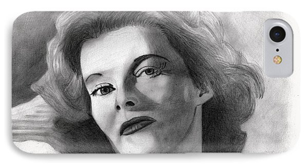 Katherine Hepburn IPhone Case