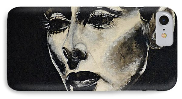 IPhone Case featuring the painting Katherine by Sandro Ramani