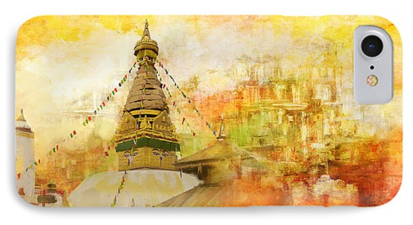 Kathmandu Valley IPhone Case