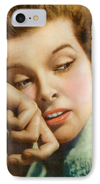 Kathryn Hepburn Phone Case by Studio Artist