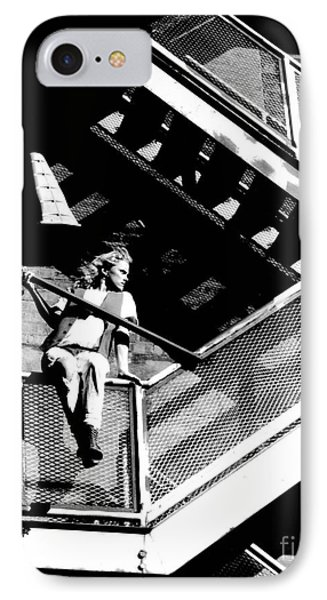 Katie-fire Escape Phone Case by Gary Gingrich Galleries