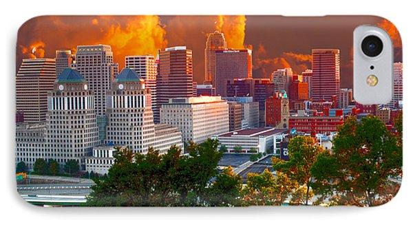 Katrina Storm Hits Cincinnati IPhone Case