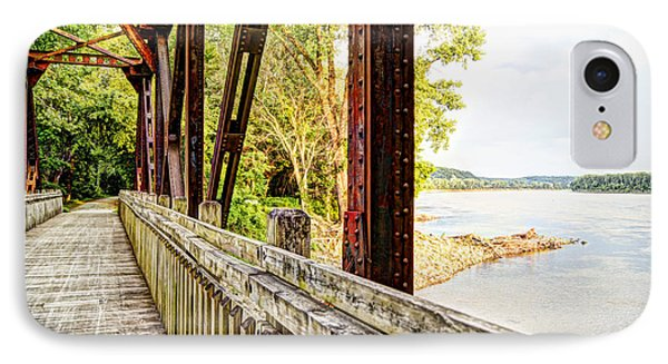 Katy Trail Near Coopers Landing IPhone Case by Cricket Hackmann