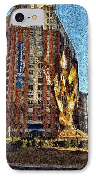 Katyn Memorial In Baltimore IPhone Case