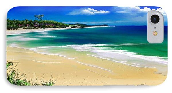 Kauai Beach Solitude IPhone Case