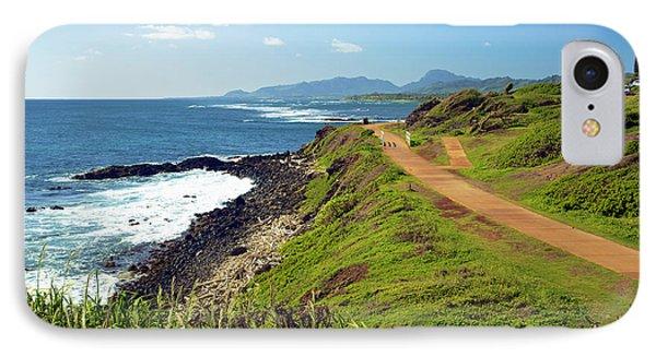 Kauai Coast Phone Case by Kicka Witte