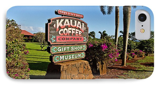 Kauai Coffee Phone Case by Scott Pellegrin
