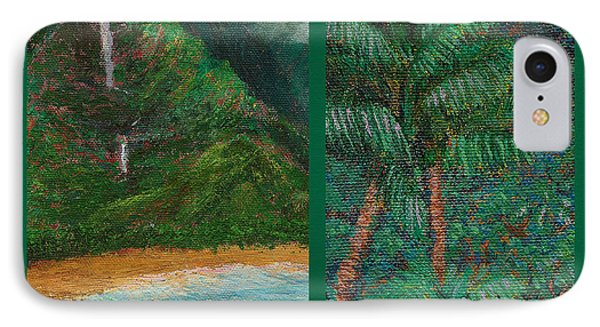 Kauai Painting Poster 3 Phone Case by Kenneth Grzesik