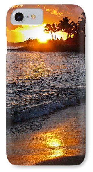 IPhone Case featuring the photograph Kauai Sunset by Shane Kelly