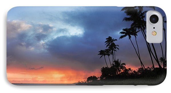 IPhone Case featuring the photograph Kawaikui Sunset 2 by Leigh Anne Meeks