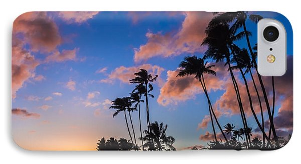 IPhone Case featuring the photograph Kawakui Sunset 3 by Leigh Anne Meeks