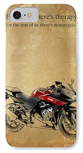 Kawasaki Quote IPhone Case by Pablo Franchi