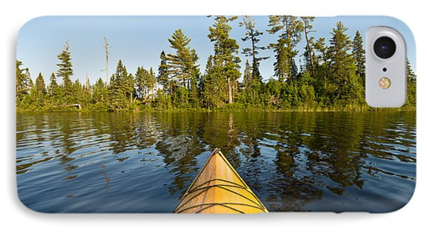 Kayak Adventure Bwca IPhone Case by Steve Gadomski