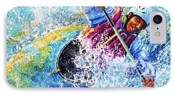 Kayak Crush Phone Case by Hanne Lore Koehler
