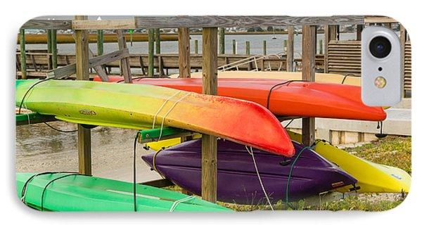 Kayak Rack IPhone Case