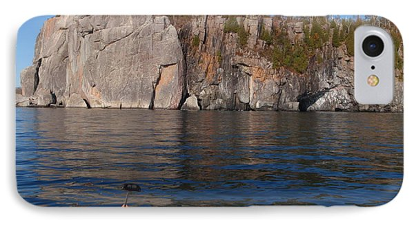 IPhone Case featuring the photograph Kayaking Beneath The Light by James Peterson