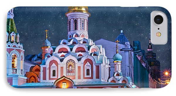 Kazan Cathedral. Red Square. Moscow Russia IPhone Case by Juli Scalzi