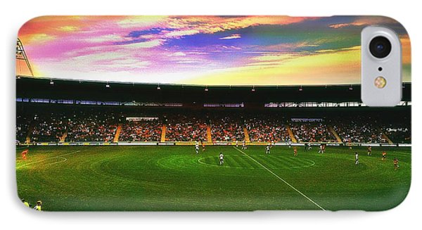 Kc Stadium In Kingston Upon Hull England IPhone Case by Chris Drake