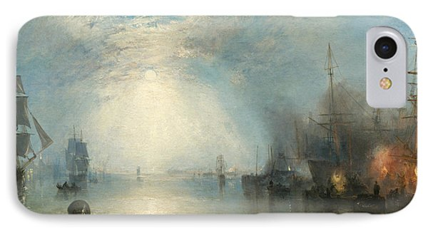 Keelmen Heaving In Coals By Moonlight IPhone Case