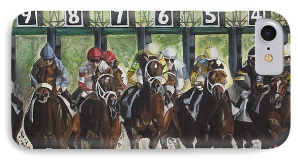 Keeneland IPhone Case by Kim Selig